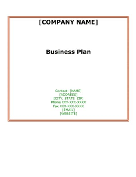 Sample business plan delivery company